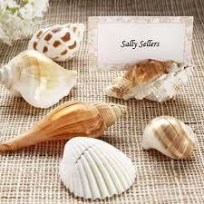 natural seashell place card holders, beach themed weddings Beach Themed Wedding Place Cards shell place card holders beach themed place cards for wedding