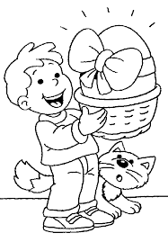 Fun Toddler Easter Coloring Pages 5474 Toddler Easter Coloring