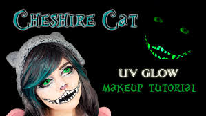 cheshire cat makeup tutorial uv glow