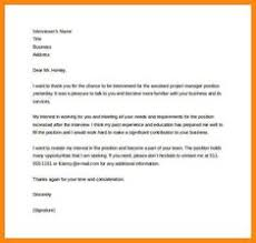 Thank You Letter After Job Interview - Http://resumesdesign.com ...