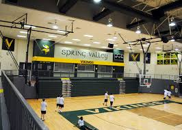 high school gym. Spring Valley High School Gym Renovation