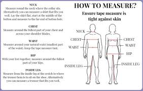 How To Measure Clothing Simon Jersey