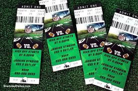 Free Football Invitation Templates Football Ticket Invitations Sports Invitation Template Free