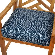 Outdoor Dining Chair Cushions in Blue Remarkable Outdoor Dining