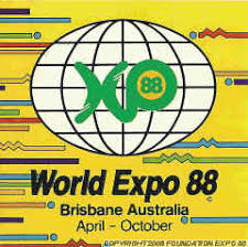 「1988, The International Exposition on Leisure in the Age of Technology Brisbane Australia 1988, World Expo 88」の画像検索結果
