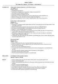 Oncology Rn Resume Oncology Rn Resume Samples Velvet Jobs