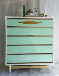painted mid century furnitureSaleVintage Bassett Painted Mid Century Modern by RedoneByShari