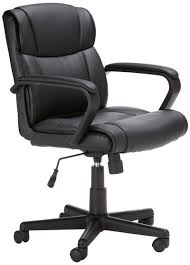 office chairs good for back. amazonbasics mid-back office chair chairs good for back