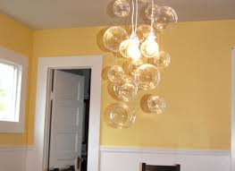 diy glass bubble chandelier diy project aholic