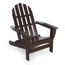 POLYWOOD Recycled Plastic Classic Curveback Adirondack Chair | Hayneedle