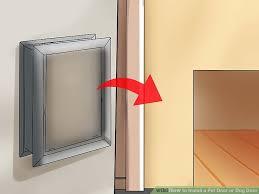 image titled install a pet door or dog door step 6