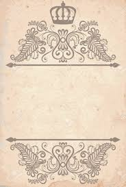 Paper Picture Frame Templates Vintage Royal Frame Template On Old Paper Royalty Free Cliparts