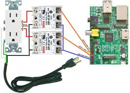 using the raspberry pi to control ac electric power  technotes pi power controller wiring diagram ssr
