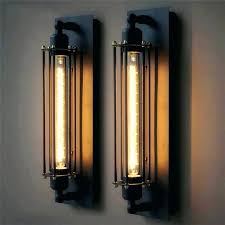 cheap wall sconce lighting. Bar Wall Sconces Perfect Industrial Sconce Lighting Vintage Lamp Iron Black Light . Cheap L