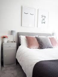 Bedroom Tour | Pink And Grey Bedroom Decor