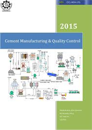 Manufacturing And Quality Control Of Cement