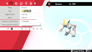 ✨shiny✨ 6iv zeraora pokemon sword shield Rao bán