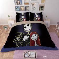 bedding nightmare before bedding set bedclothes unique duvet cover scary ghosts duvet cover printed cashmer black duvet covers duvet