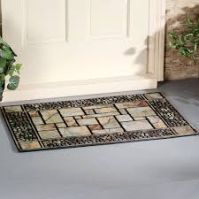 outdoor front door matsPatio Stone Doormat
