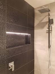 well known niche with led strip lighting bathroom kitchen renovations xk67