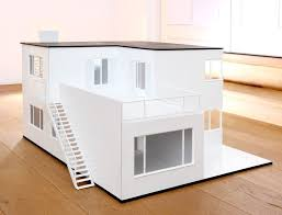 contemporary dollhouse furniture. Created By Minimii This Amazing Modern Dollhouse Is A Reproduction Of Designer Arne Jacobsenu0027s Own 1928 Villa See Images The Not Yet Contemporary Furniture