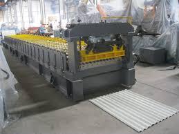 sheet metal roll 0 2mm thickness corrugation sheet metal roll forming machines 72mm
