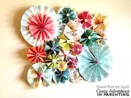 paper wall decoration paper wall decor simple rosette paper wall decor paper wall decoration