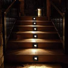 lighting stairs. Led Stair Lighting. Outdoor Waterproof Lighting Stairs
