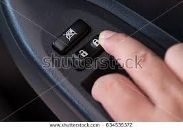lock car door. Press The Inside Car Door Lock Button