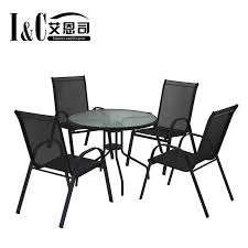china garden chairs and tables set