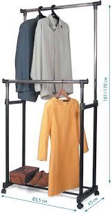 """<b>Стойка для одежды</b> """"<b>Tatkraft</b> Phoenix"""", двойная, на колесиках ..."""