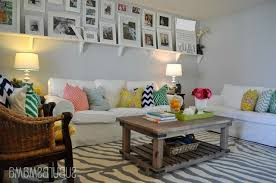 diy living room decor of yellow chandelier lighting decor ideas