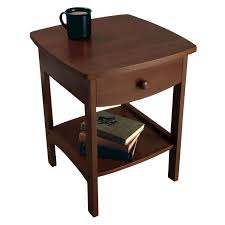 wood end tables. View Larger Wood End Tables O