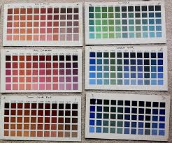 Richards Paint Color Chart How I Learned About Color Mixing Julia Lundman Medium