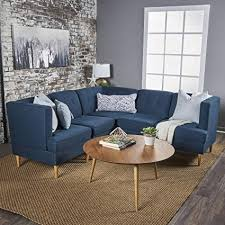 modern furniture living room wood. Milltown 5pc Mid-Century Tufted Modular Sectional Sofa With Birch Wood  Legs, Comfortable, Modern Furniture Living Room Wood C