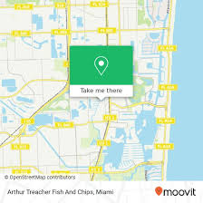 How To Get To Arthur Treacher Fish And Chips In Miami By Bus