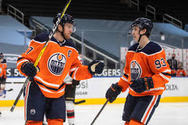 Theo peckham's 38 points (and 387 penalty minutes) in 143 ahl games work out to 10 points over a full. Connor Mcdavid Leon Draisaitl Combine For 11 Points In Oilers 8 5 Win Over The Senators The Globe And Mail