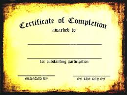 Printable Certificates Of Completion Template Editable Coupon Template Certificates Of Achievement 23