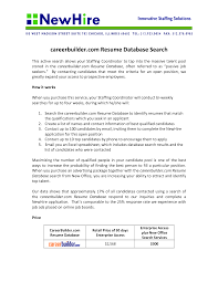 Best Ideas Of Career Builder Resume Search Cost Fabulous Pleasant