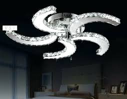 ceiling fan with chandelier light kit blue wire crystal bead candelabra