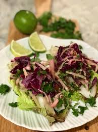 fish tacos with lucy's asian slaw ...