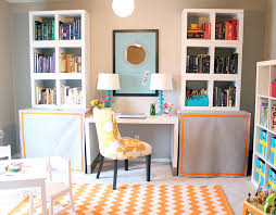 Office playroom Combo Bright And Colorful Officeplayroom Combo Kara Paslay Design Bright And Colorful Officeplayroom Combo Kara Paslay Design