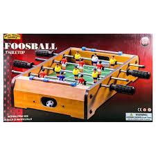 Miniature Wooden Foosball Table Game Wooden Foosball 100 Real Wood Games Samko Miko Toy Warehouse 81