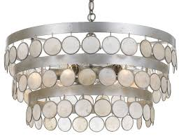 coco 6 light 22 chandelier with dd capiz shell accents beach style chandeliers by buildcom