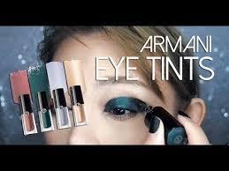 <b>Giorgio Armani Eye Tint</b> Liquid Shadow Lid Swatches and Review ...