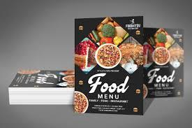 Menu Flyer Template Food Menu Flyer Template By Farisimran Design Bundles 16
