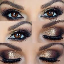 gold smokey eye makeup makeup eye makeup and wedding makeup