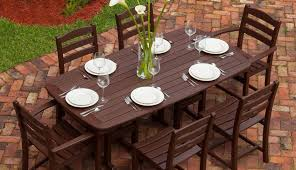 aluminum costco traditional rectangular cover patio furniture wonderful round for square seats set sets polywood table