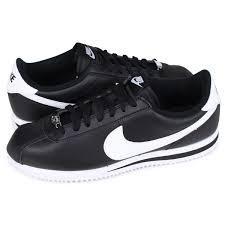 nike nike cortez sneakers cortez basic leather 819719 012 mens shoes black