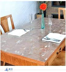 glass table covers transpa dining table covers soft glass table cloth round table transpa table cloth